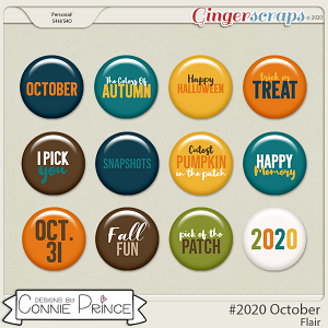 #2020 October - Flair Pack by Connie Prince