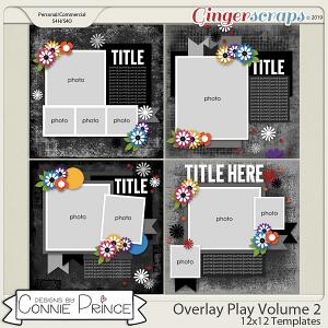 Overlay Play Volume 2 - 12x12 Temps (CU Ok) by Connie Prince