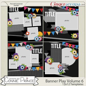 Banner Play Volume 6 - 12x12 Temps (CU Ok) by Connie Prince