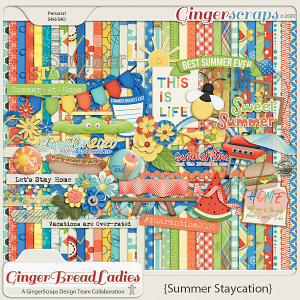 GingerBread Ladies Monthly Mix: Summer Staycation