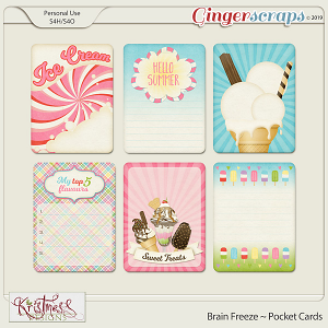 Brain Freeze Pocket Cards