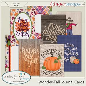 Wonder-Fall Journal Cards