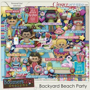 Backyard Beach Party by BoomersGirl Designs