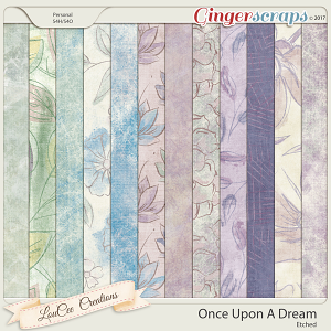 Once Upon A Dream Etched Papers by LouCee Creations
