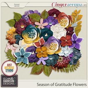 Season of Gratitude Flowers by Aimee Harrison and JB Studio