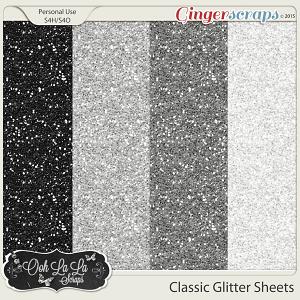Classic Glitter Sheets
