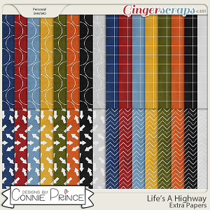 Life's A Highway - Extra Papers by Connie Prince
