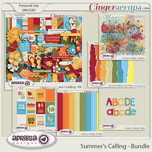 Summer's Calling - Bundle by Aprilisa Designs