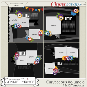 Curvaceous Volume 6 - 12x12 Temps (CU Ok) by Connie Prince