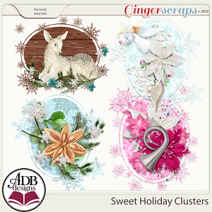 Sweet Holiday Clusters by ADB Designs