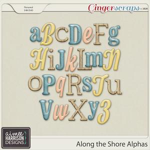 Along the Shore Alpha Sets by Aimee Harrison