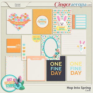Hop Into Spring Cards by JB Studio