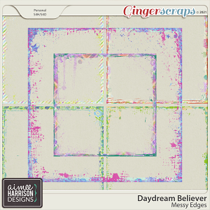 Daydream Believer Messy Edges by Aimee Harrison