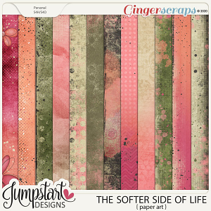 The Softer Side of Life {Paper Art} by Jumpstart Designs