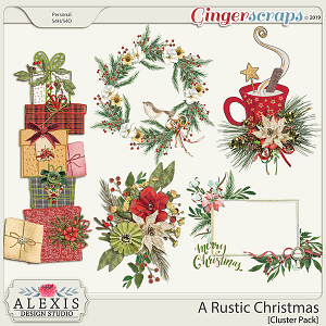 A Rustic Christmas - Cluster Pack