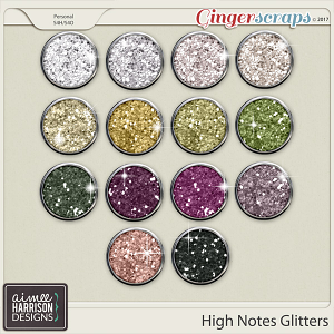 High Notes Glitters by Aimee Harrison