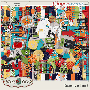 Science Fair kit by Scraps N Pieces