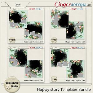 Happy story Templates Bundle