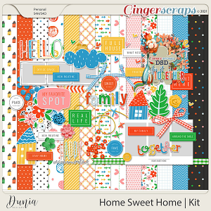 Home Sweet Home   Kit by Dunia Designs