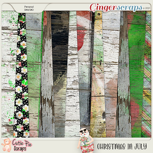 Christmas In July Wood Papers