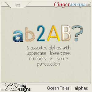 Ocean Tales: Alphas by LDragDesigns