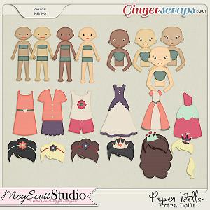 Paper Dolls - Extra Dolls