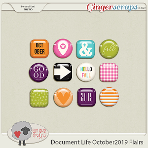 Document Life October 2019 Flairs by Luv Ewe Designs