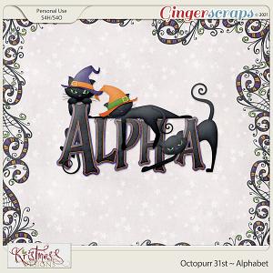 Octopurr 31st Alphabet