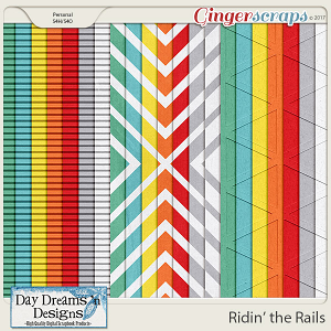 Ridin' the Rails {Extra Papers} by Day Dreams 'n Designs