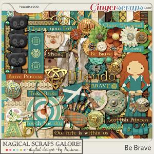 Be Brave (page kit)