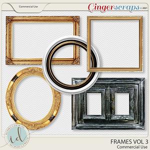 CU Frames Vol 3 by Ilonka's Designs