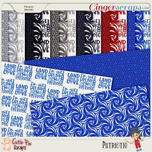 Patriotic Pattern Papers