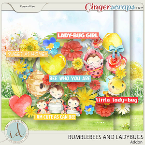 Bumblebees And Ladybugs Addon by Ilonka's Designs