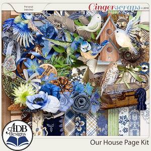 Our House Page Kit by ADB Designs