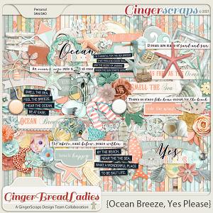 GingerBread Ladies Monthly Mix: Ocean Breeze, Yes Please