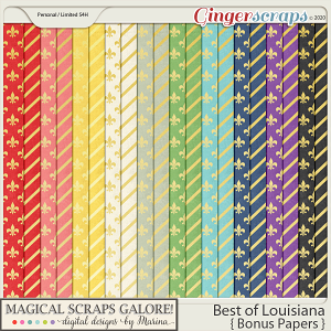 Best of Louisiana (bonus papers)