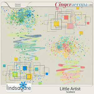 Little Artist Scatterz by Lindsay Jane