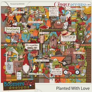 Planted With Love by BoomersGirl Designs