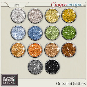 On Safari Glitters by Aimee Harrison