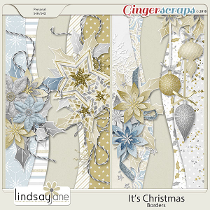 Its Christmas Borders by Lindsay Jane