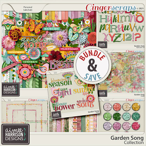 Garden Song Collection by Aimee Harrison