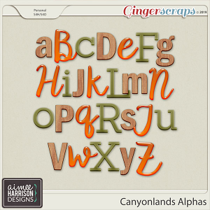 Canyonlands Alpha Sets by Aimee Harrison