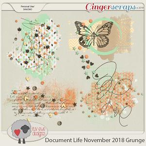 Document Life November 2018 Grunge by Luv Ewe Designs