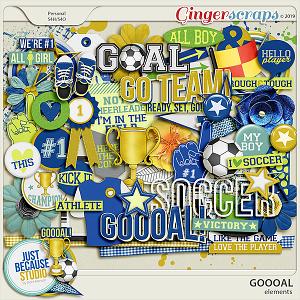 Goooal! Elements by JB Studio