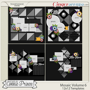 Mosaic Volume 6 - 12x12 Temps (CU Ok)