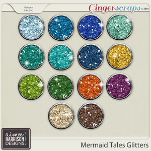 Mermaid Tales Glitters by Aimee Harrison