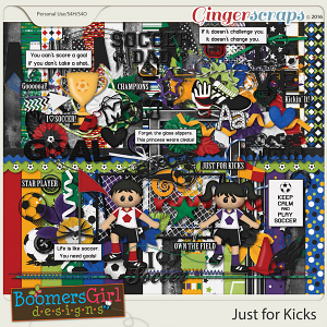 Just for Kicks by BoomersGirl Designs