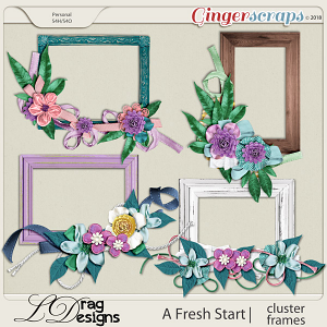 A Fresh Start: Cluster Frames by LDragDesigns