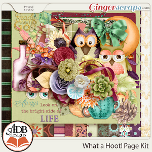 What A Hoot Page Kit by ADB Designs