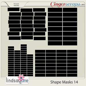 Shape Masks 14 by Lindsay Jane